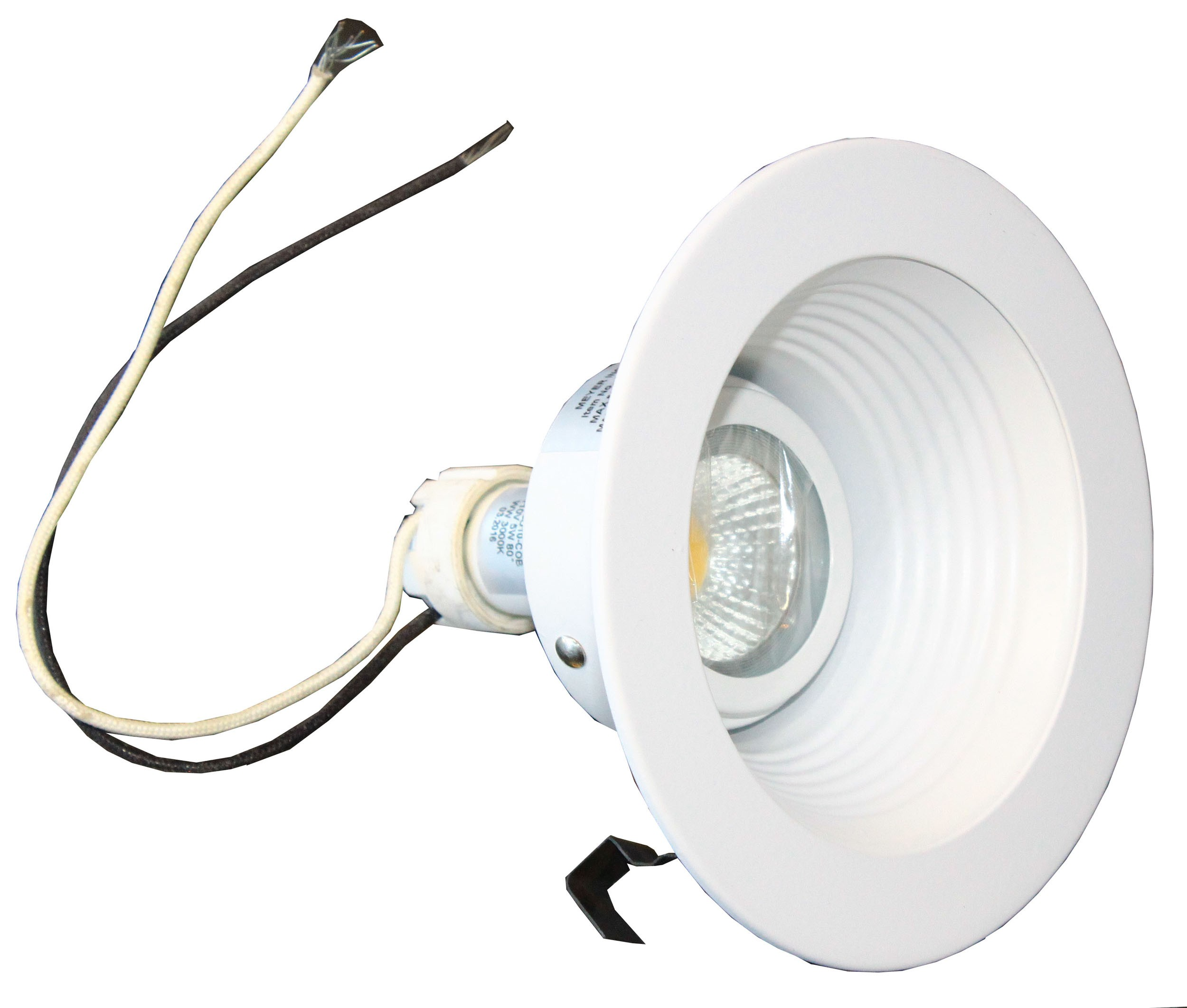 Light Trim With Led Bulb And Socket
