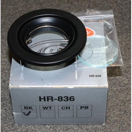 WAC Lighting HR-836 Recessed Lighting Trim - Black