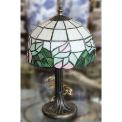 "Tiffany Lamp 15"" H."