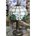 "Tiffany Lamp 15"" H."