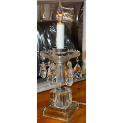 Crystal Candle Holder Style Table Lamp