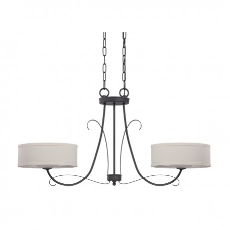 Jeremiah Lighting 35772 Tb Ridgelea 2 Light Multi Pendant The Switch Miami