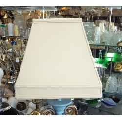 "Beige Silk Soft Back Lamp Shade (7"" x 7"") x (13"" x 13"") x 12"""