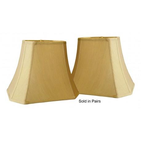 """Silk Soft Back Shades Tan (5""""x8"""") x (10""""x14"""") x 11""""- Price is per Pair"""