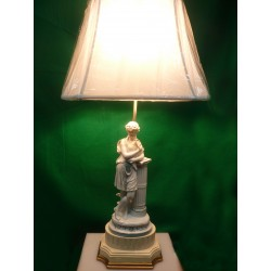 Greek Figure Desk lamp