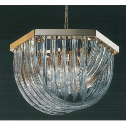 Murano 24 Light Crystal Chandelier by Classic Lighting