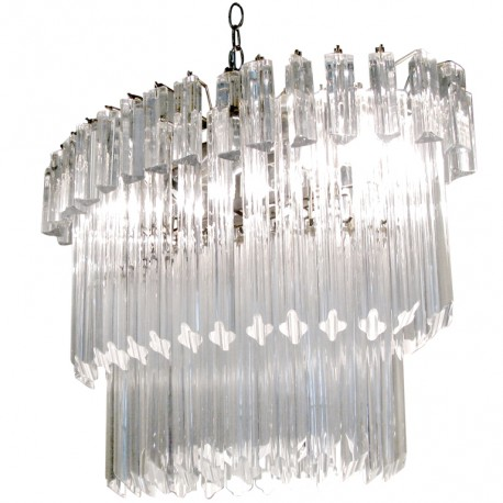 Murano Glass Chandelier.