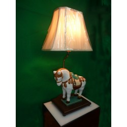 Horse Figure Desk Lamp