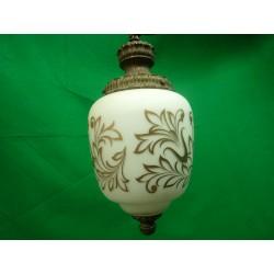 White Glass Pendant