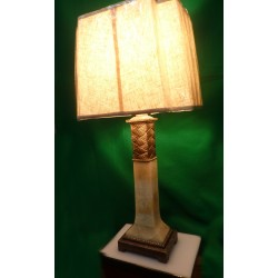 Pearly Beige Desk Lamp