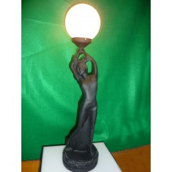 Female Figure Desk Lamp