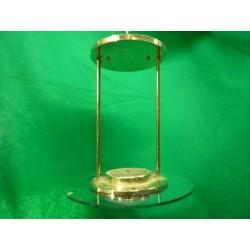 Hologen Brass Pendent Flush